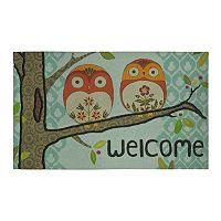Mohawk® Home Forest Owl ''Welcome'' Doormat - 18'' x 30''