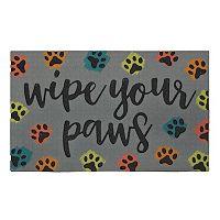 Mohawk® Home ''Wipe Your Paws'' Doormat - 18'' x 30''