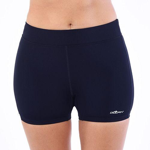 Women's Dolfin Aquashape Solid Fitted Swim Shorts