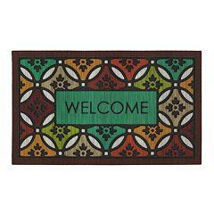 Mohawk® Home Clementine Spice ''Welcome'' Doormat - 18'' x 30''