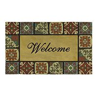 Mohawk® Home Italian Tile ''Welcome'' Doormat - 18'' x 30''