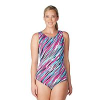 Women's Dolfin Printed Moderate One-Piece Lapsuit
