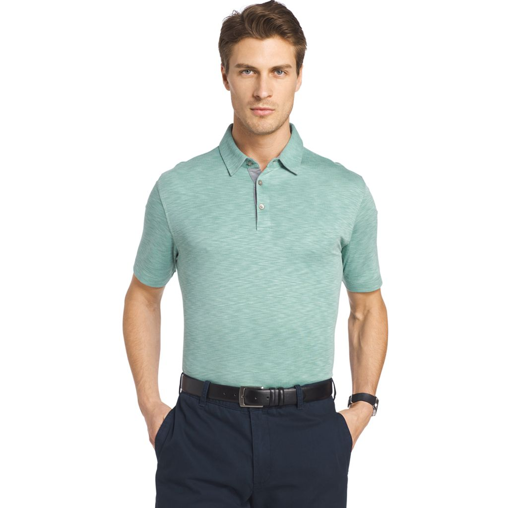 Men's Van Heusen Classic-Fit Self-Collar Polo