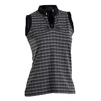 Plus Size Nancy Lopez Dizzy Sleeveless Golf Polo