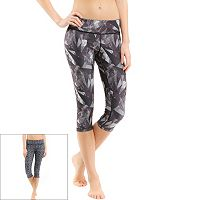 Women's Marika Ava Reversible Graphic Yoga Capris