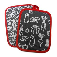 Hotel Vegetables Pot Holder 2-pk.