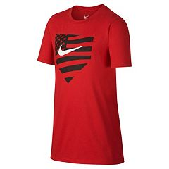 Boys 8-20 Nike American Baseball Tee