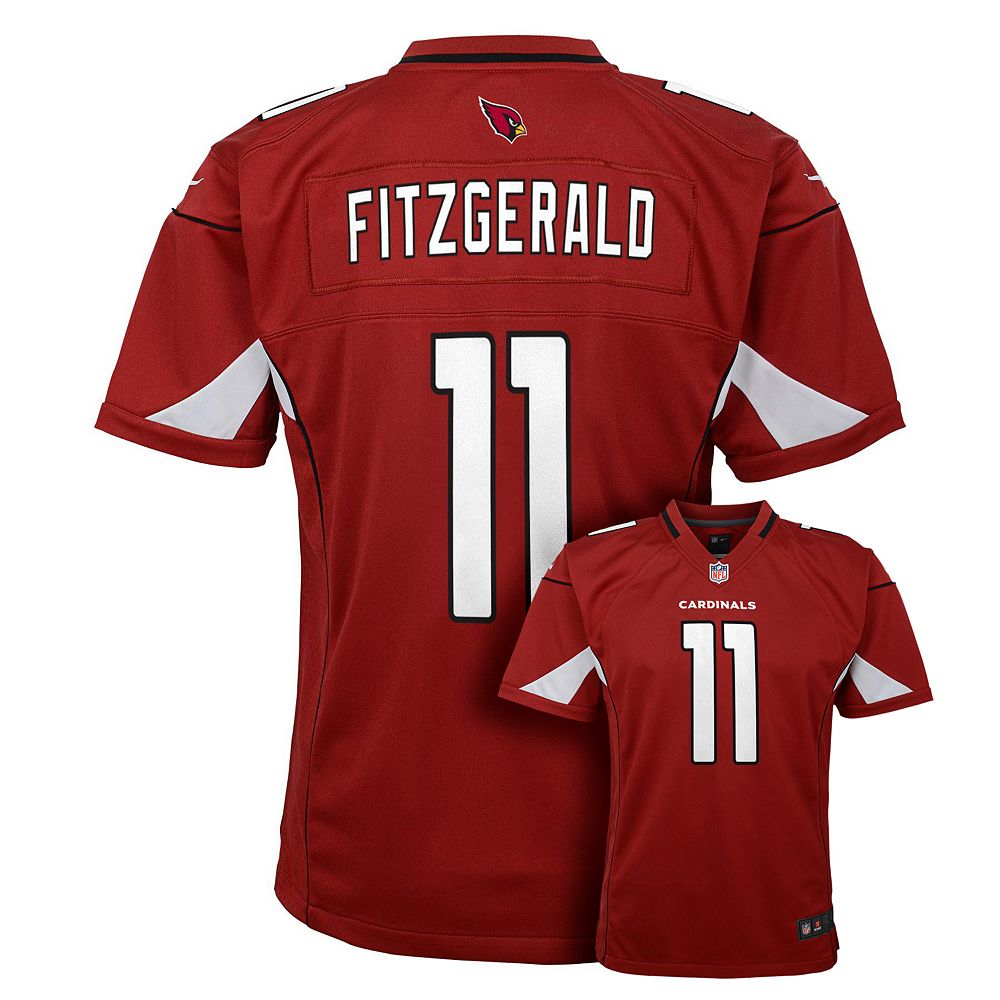 best loved 78701 89892 Boys 8-20 Nike Arizona Cardinals Larry Fitzgerald Game NFL Replica Jersey