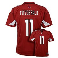 Boys 8-20 Nike Arizona Cardinals Larry Fitzgerald Game NFL Replica Jersey