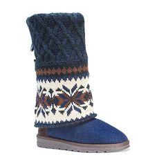 MUK LUKS Shawna Women's Sweater Boots