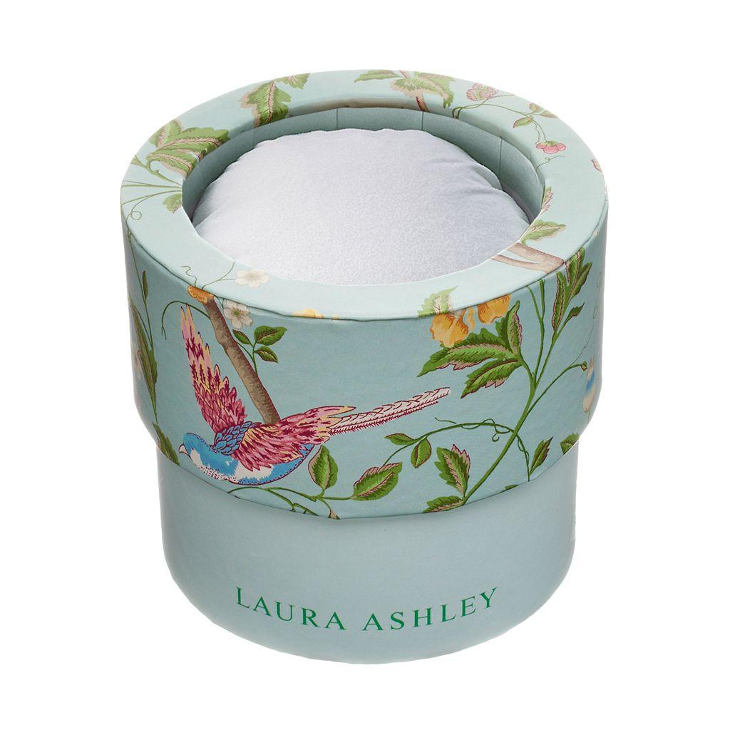 Laura Ashley Women's Floral Half Bangle Watch