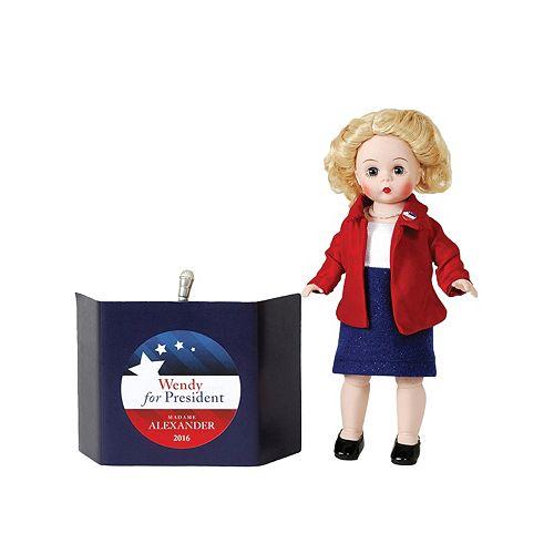 Madame Alexander Wendy President Doll