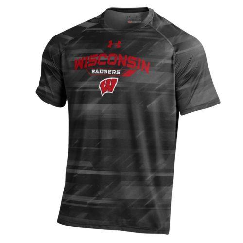 Men's Under Armour Wisconsin Badgers Novelty Tee