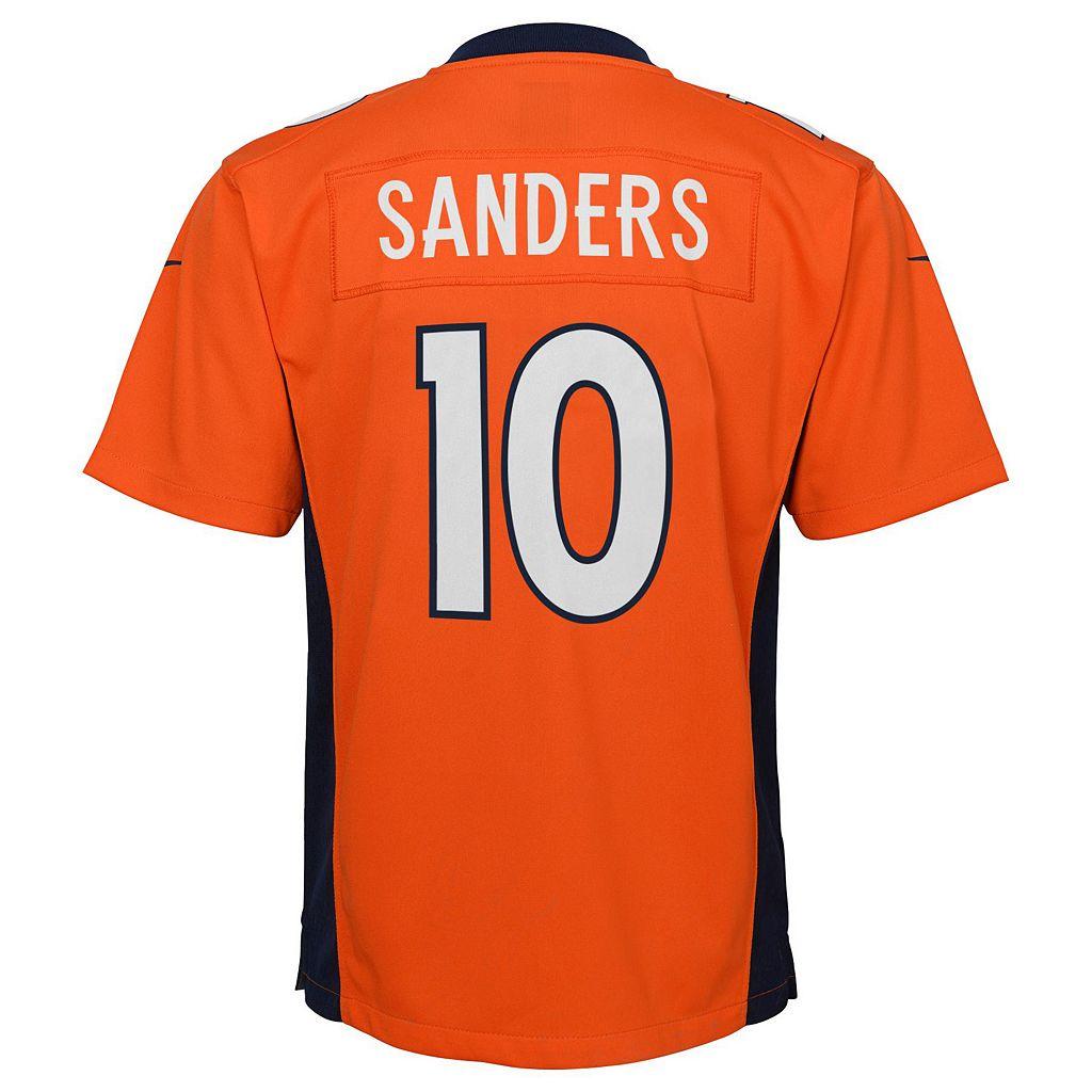 Boys 8-20 Nike Denver Broncos Emmanuel Sanders Game NFL Replica Jersey