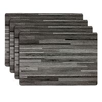 Hotel Wood Placemat 4-pk.