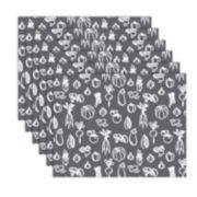 Hotel Vegetables Placemat 6-pk.