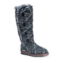 MUK LUKS Felicity Women's Water-Resistant Sweater Boots