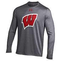 Men's Under Armour Wisconsin Badgers Logo Tech Tee