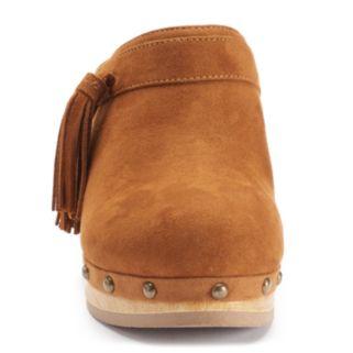 Unionbay Mystic Women's High Heel Clogs