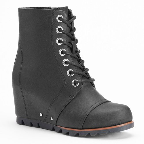 cf7bd8bb306 Unionbay Sassy Women s Wedge Combat Boots