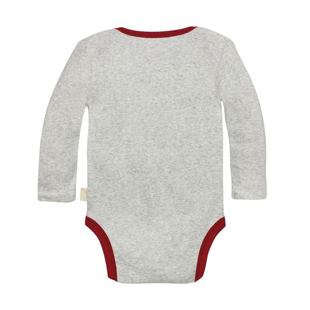 Baby Girl Burt's Bees Baby Organic Velour Bodysuit Dress