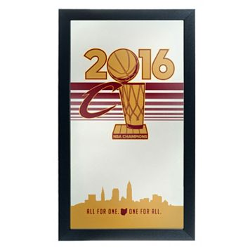 Cleveland Cavaliers 2016 NBA Champions Framed Logo Wall Art