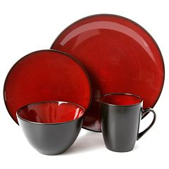 Gibson Home Soho Lounge 16 pc Dinnerware Set
