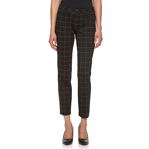 Women's ELLE™ Plaid Skinny Pants