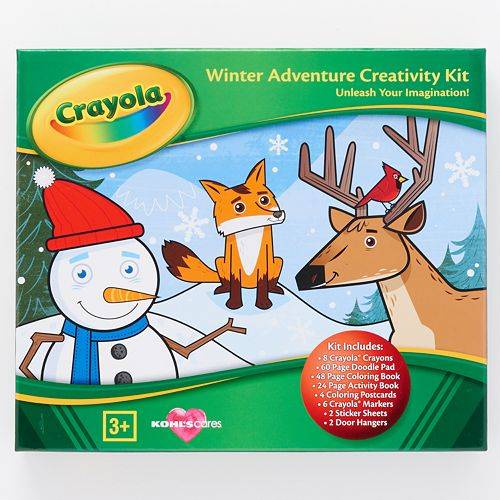 Kohl\'s Cares® Crayola Winter Adventure Holiday Coloring Kit