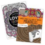 Mandalas 2-pk. Adult Color Books by Bendon