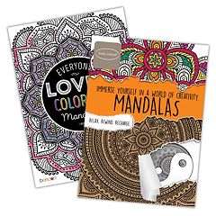 Mandalas 2 pkAdult Color Books by Bendon