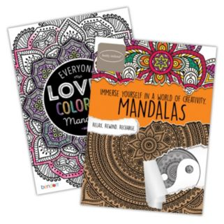 Mandalas 2-pk. Adult Color Books by Bendon