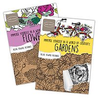 Kathy Ireland Gardens & Flowers 2 pkAdult Color Books by Bendon