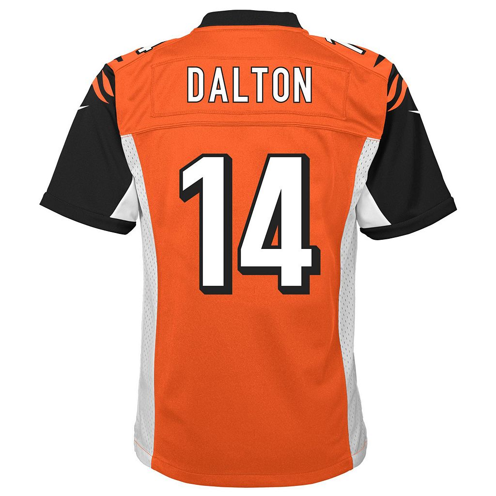 Boys 8-20 Nike Cincinnati Bengals Andy Dalton Game NFL Replica Jersey