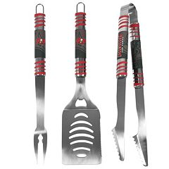 Tampa Bay Buccaneers 3-Piece Tailgater BBQ Set