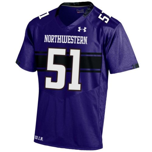 Men's Under Armour Northwestern Wildcats Replica Football Jersey
