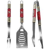 San Francisco 49ers 3-Piece Tailgater BBQ Set