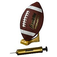 Youth Franklin Sports Junior Grip-Rite Pump & Tee Football Set