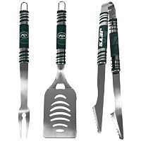 New York Jets 3-Piece Tailgater BBQ Set