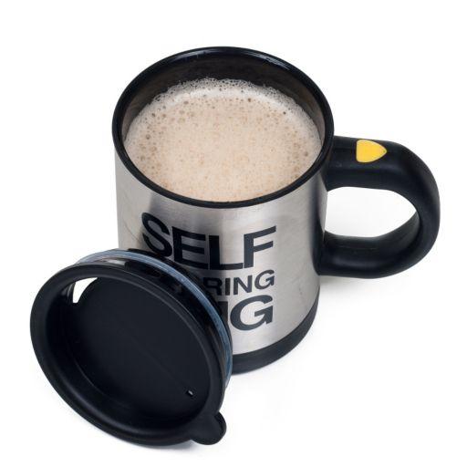 Chef Buddy 15-oz. Self Stirring Coffee Mug