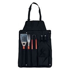 Chef Buddy 7-pc. BBQ Apron & Utensil Set