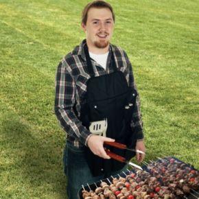 Chef Buddy 7-pc. BBQ Apron & Utensil Set