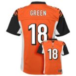 Boys 8-20 Nike Cincinnati Bengals AJ Green Game NFL Replica Jersey