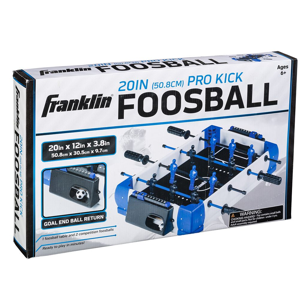 Franklin Sports 20-Inch Pro Kick Foosball Set