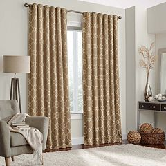 eclipse Thermalayer Blackout 1-Panel Cornell Window Curtain