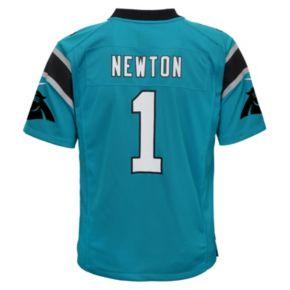 Boys 8-20 Nike Carolina Panthers Cam Newton Game NFL Replica Jersey