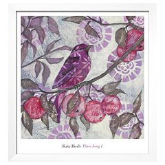 Art.com 'Plum Song I' Framed Wall Art