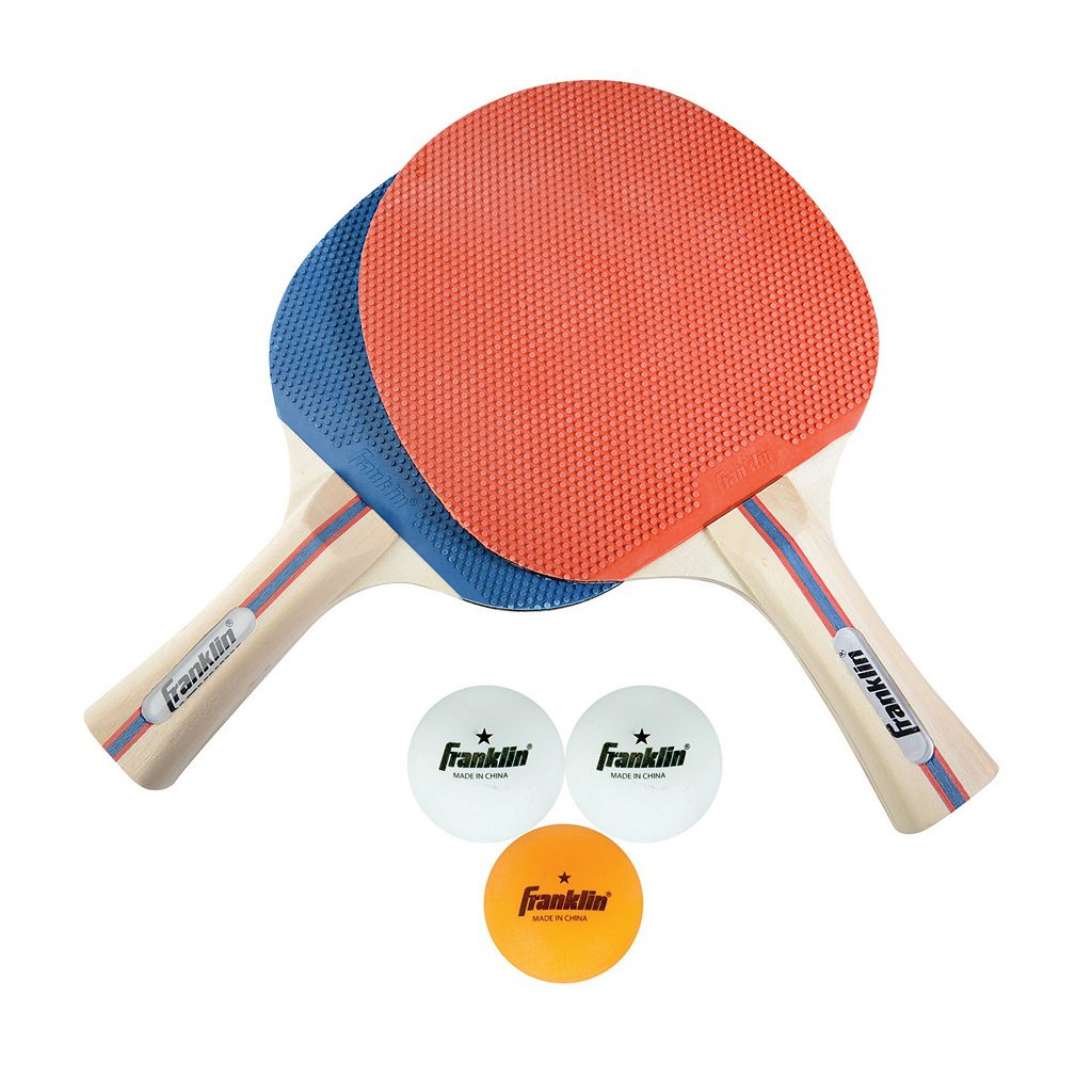 Franklin Sports 2-Player Paddle & Ball Set