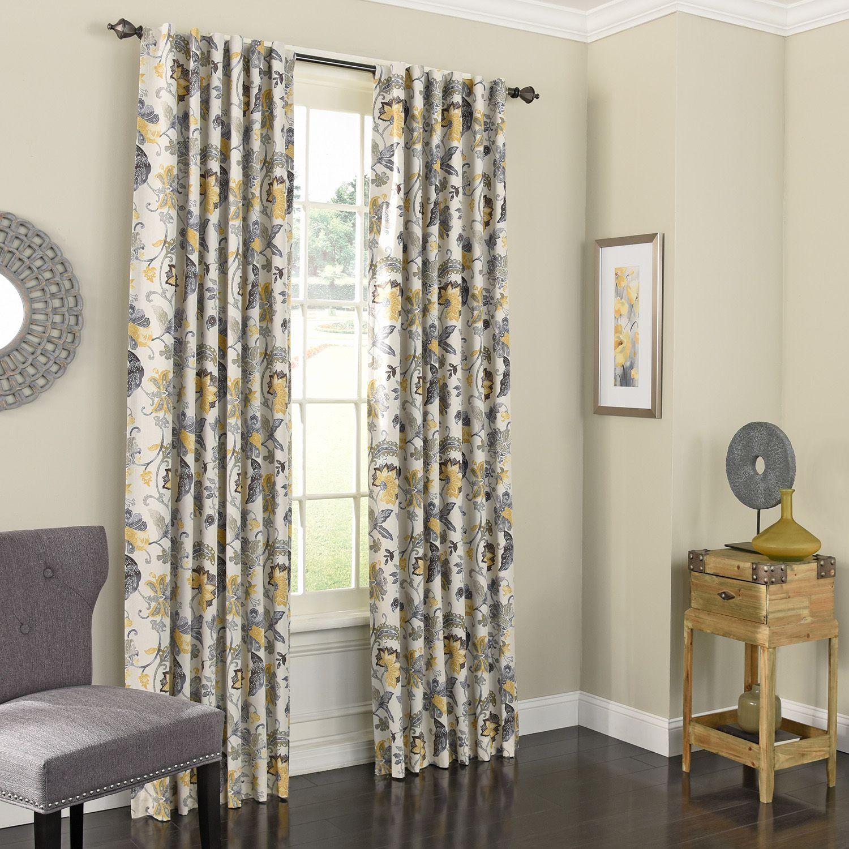 yellow bedroom curtains drapes window treatments home decor rh kohls com