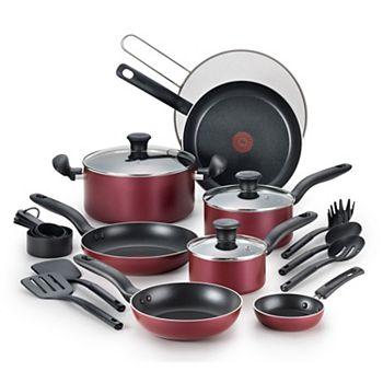 T-Fal Reserve 20-Piece Nonstick Cookware Set + $10 Kohls Cash